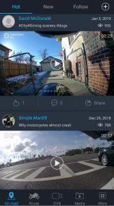 HaloCam M1 Moto App