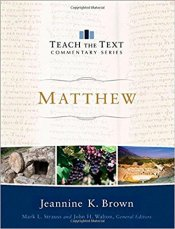 matthew commentary book cover