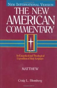 Craig Blomberg Matthew commentary
