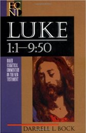 luke commentary book cover
