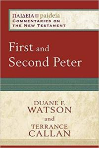 peter commentary book cover