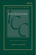 deuteronomy bible commentary