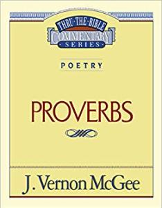 proverbs commentary cover