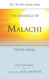 malachi bible commentary adam cover
