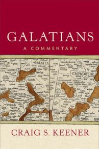 Galatians commentary by Craig S. Keener cover