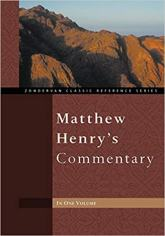 Matthew Henry whole bible commentary