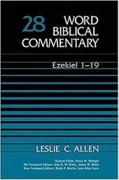 Ezekiel commentary by Leslie Allen