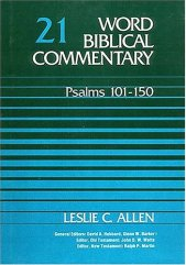 Psalms commentary by Leslie Allen