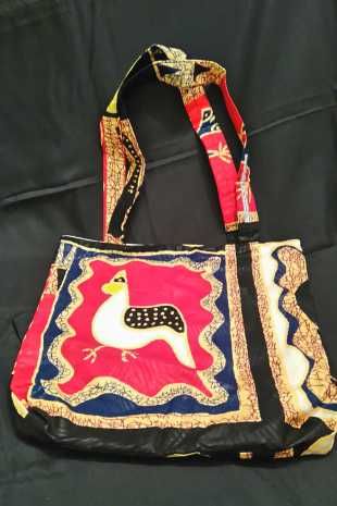 Cockerel Motif Bag
