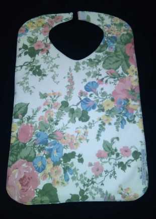 Everyday Victoriana Floral Bib
