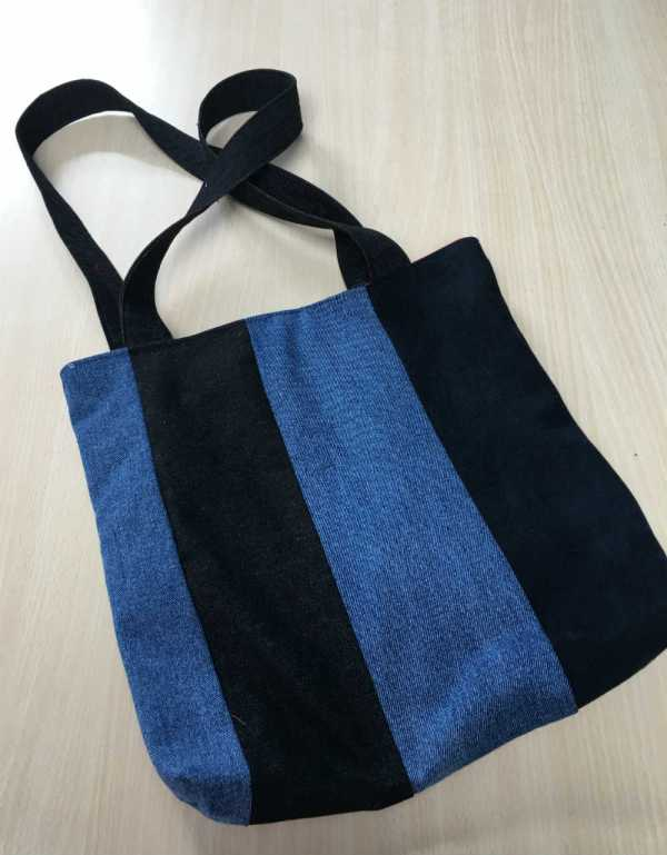 Denim Bag Front