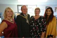 Mary, Zarina, Lord Provost + Lesley