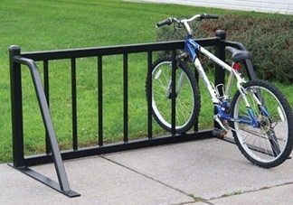 Custom built bike rack