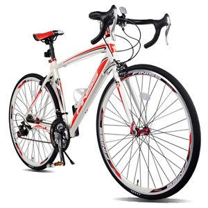 Merax Finiss 700C Road Bike Racing Bicycle