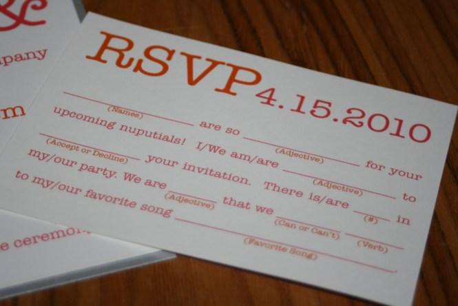 100 Fun And Modern Dandelion Sketch Wedding Invitations With Mad Lib Rsvp