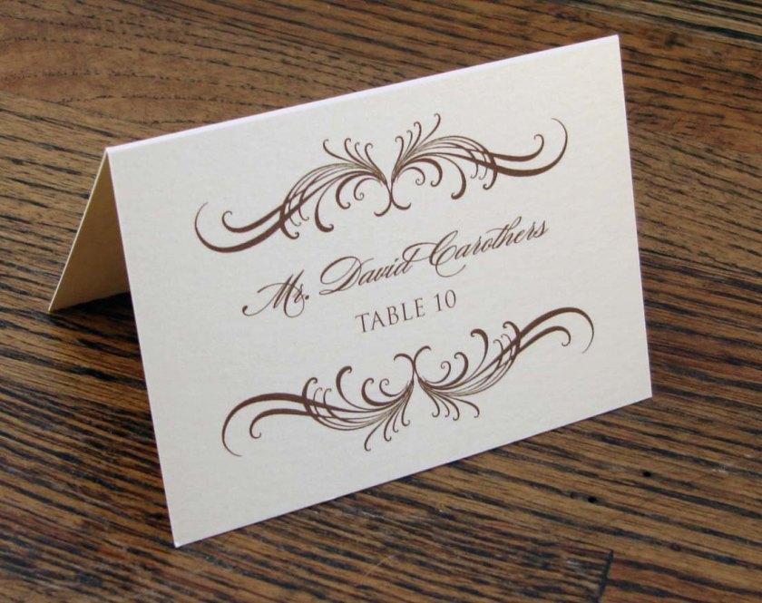 Diy Place Cards Wedding Reception Card Ideas Source 3bpspot