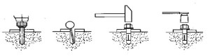 Auto Lift boltpk12 Anchor Bolts