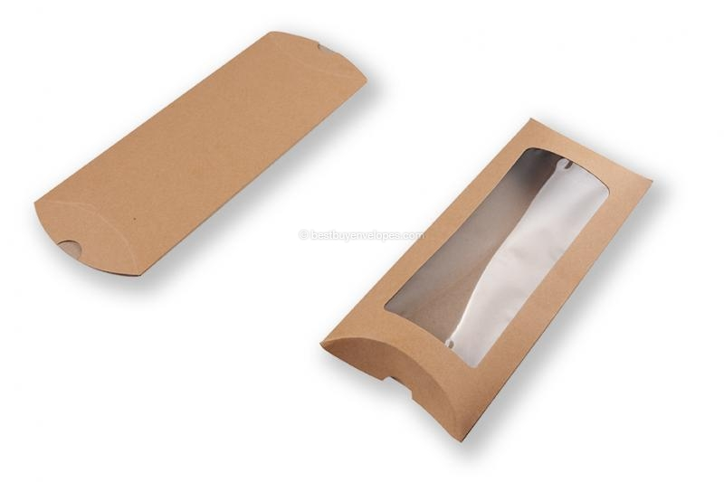 order brown pillow boxes online