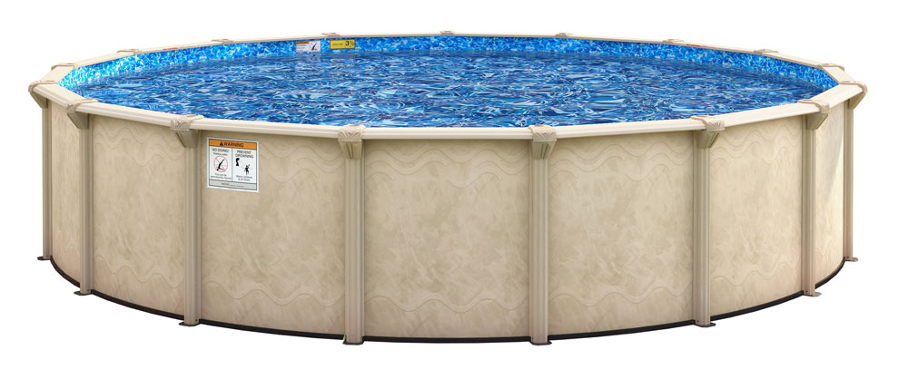 Home skills landscaping every editorial product is independently selected, though we may be com. 21 Round Cedar Key 52 Resin Hybrid Above Ground Pool Package