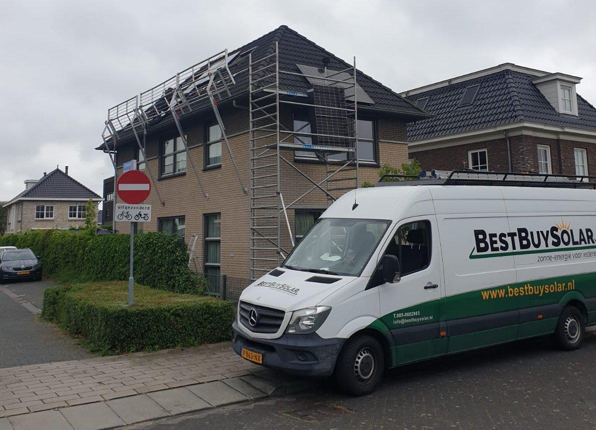 BS134 - Zonnepanelen Almere Noorderplassen veilig werken Marifoon