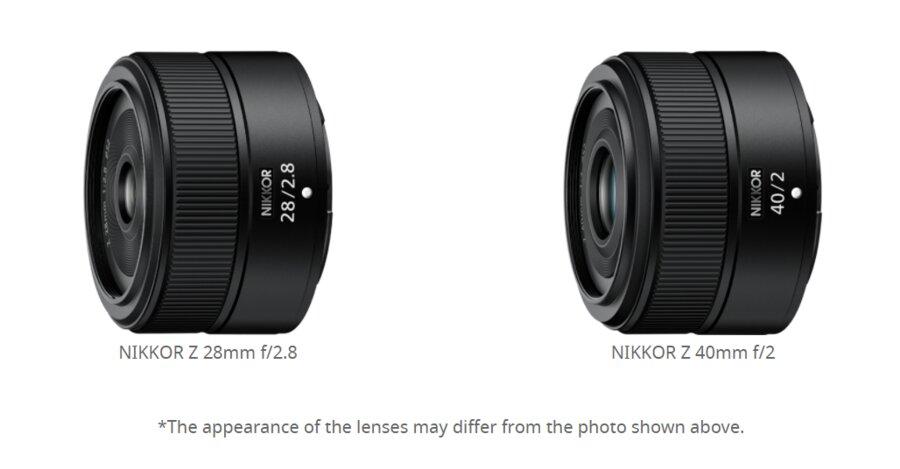Nikon sta sviluppando obiettivi NIKKOR Z 28mm f/2.8 e NIKKOR Z 40mm f/2