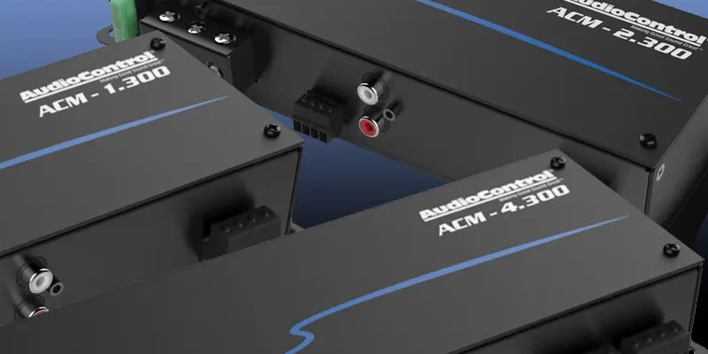 Product Spotlight: AudioControl ACM Amplifiers