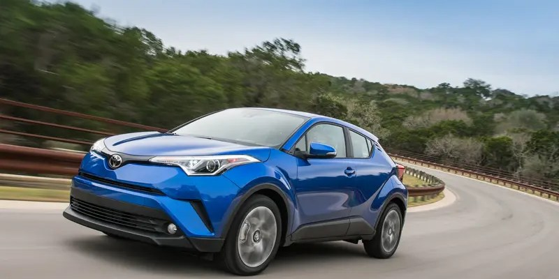 Compact Utility with the 2018 Toyota C-HR