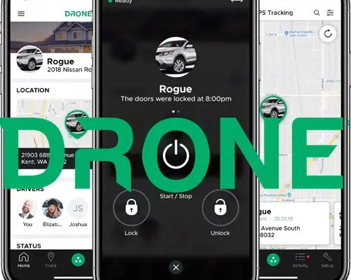 New DroneMobile App Connects All of the Vehicles and Drivers in Your Home or Business