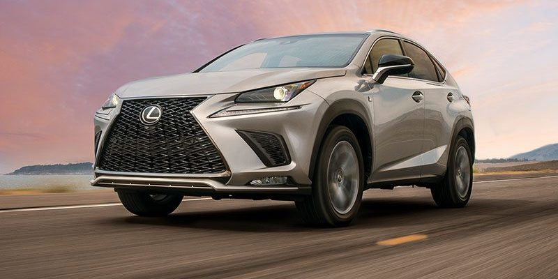 2020 Lexus NX 300. A lot more Rev for a RAV.