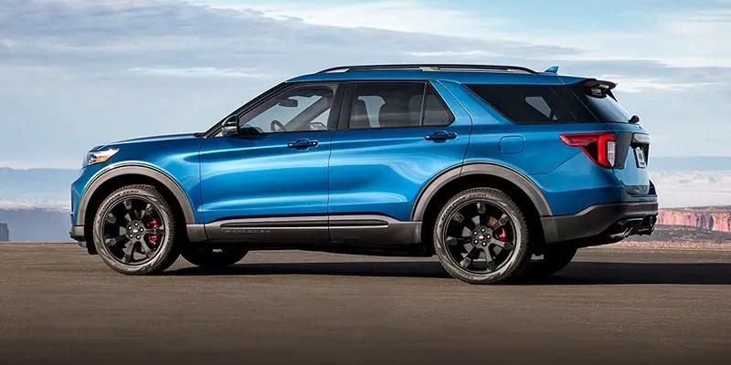 2020 Ford Explorer ST. Haulin' Class!