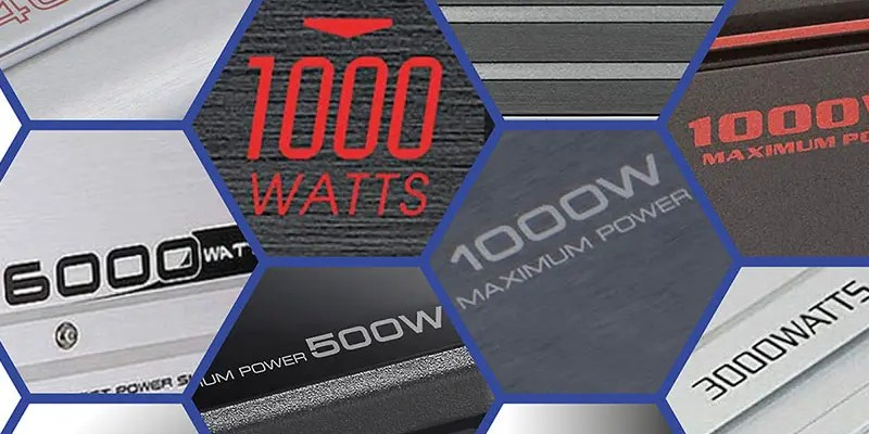 Why Do Car Audio Amps Have Max Power Ratings?