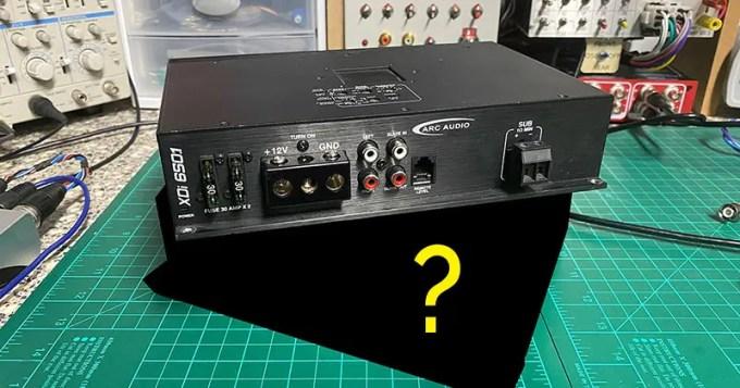 Subwoofer Amplifier