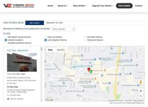 Vision Zero Network Finder