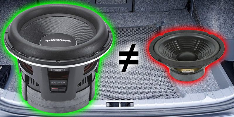 Can I Swap the Factory Subwoofer in My Car for Better Performance?
