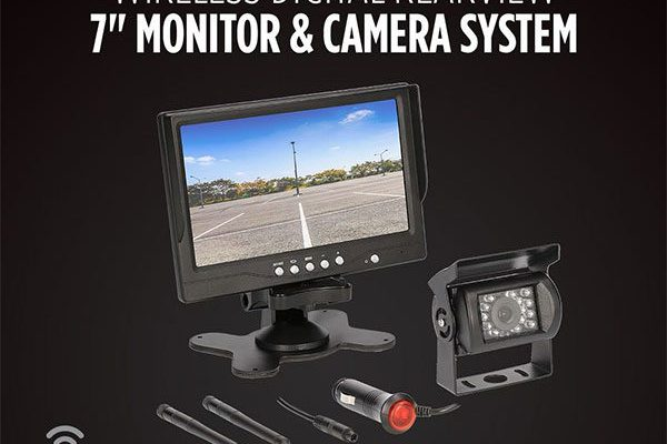 iBEAM Ships New Commercial Wireless Rearview System and Monitor