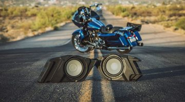 Motorcycle Subwoofer