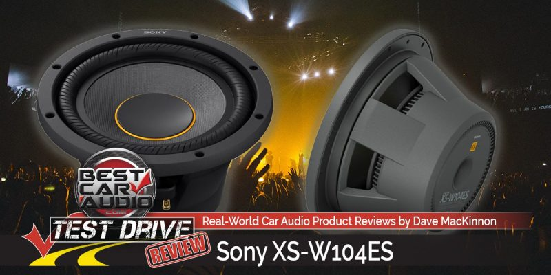 Test Drive Review: Sony Mobile ES XS-W104ES Subwoofer
