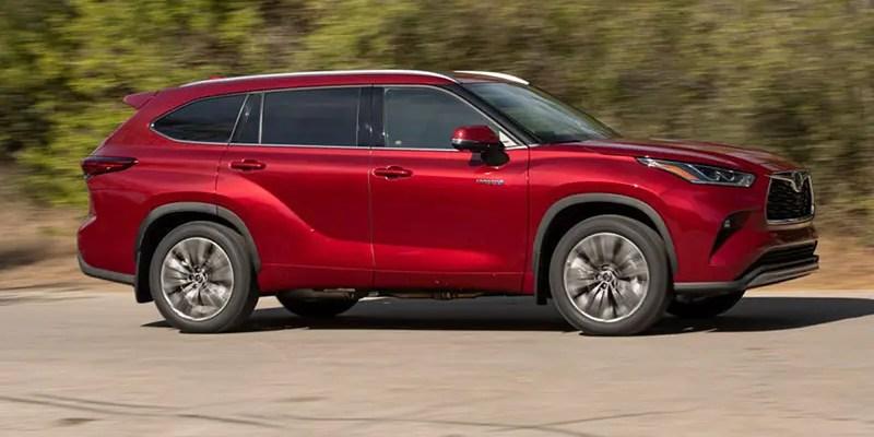 2021 Toyota Highlander Hybrid Platinum. Getting High – Not On Fumes