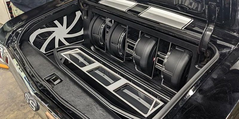 Acrylic and Glass Accent the Coolest Car Audio Installations