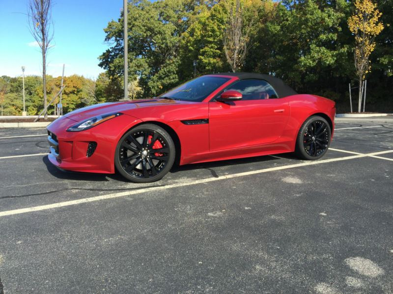 2014 Jaguar F Type For Sale By Owner In North Oxford Ma 01537