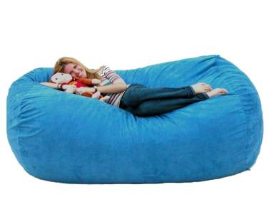 Cozy Sack 7-Feet Bean Bag Chair