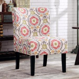 Roundhill Furniture Capa Print Best Living Room Accent Chair