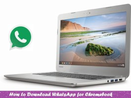 WhatsApp for Chromebook