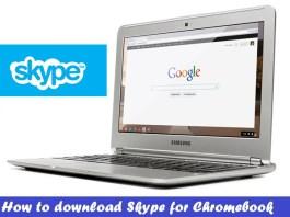 Download Skype for Chromebook