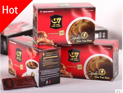3 Boxes 45 Slimming <font><b>Coffee</b></font> for Weight Loss Vietnam Instant G7 <font><b>Coffee</b></font> 100% Imported with Original Packaging Hot Sale Black <font><b>Coffee</b></font>