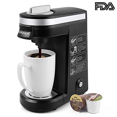 Chulux Single Serve Coffee Maker Brewer For K Cups With 12 Oz Water