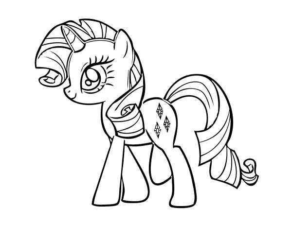 my little pony coloring pages free # 15