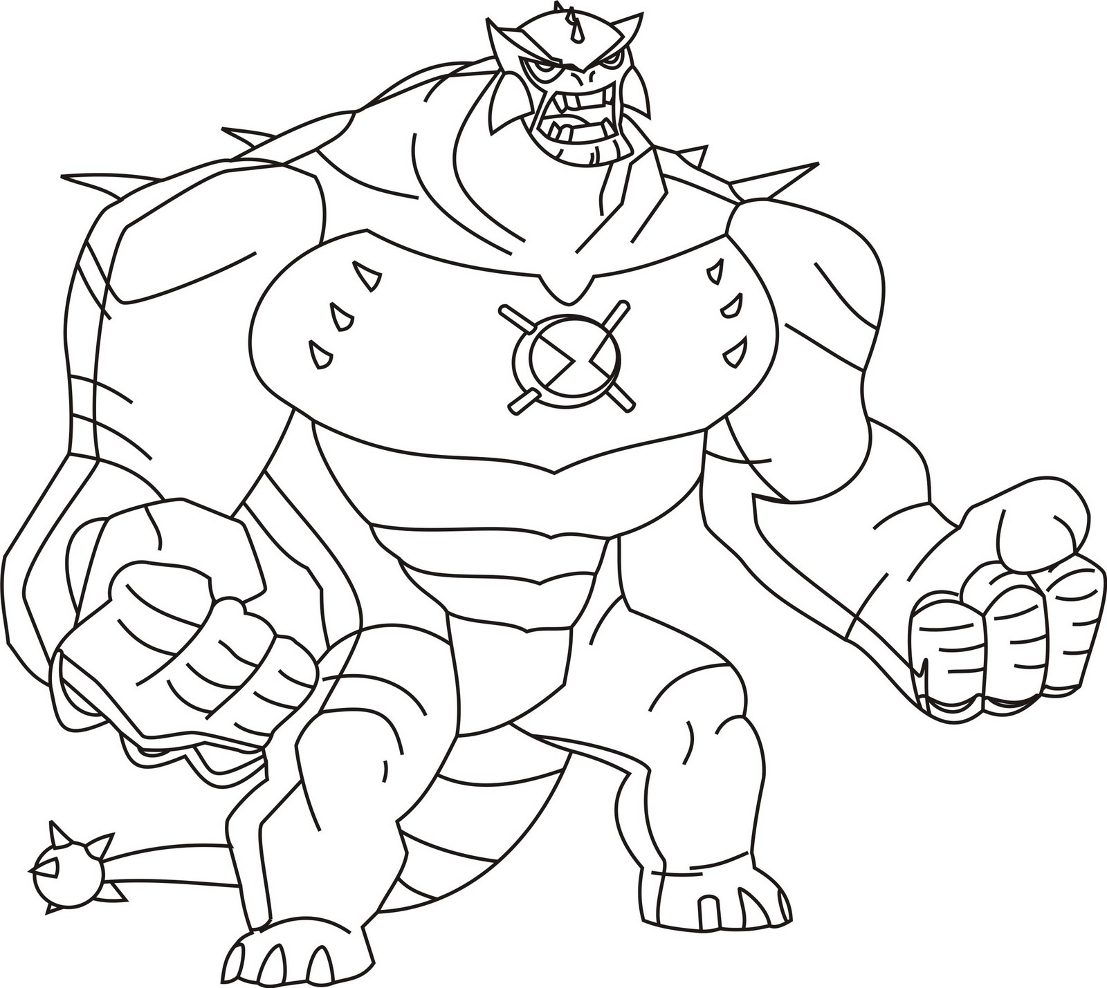 For Ben 10 Aliens Coloring Coloring Pages