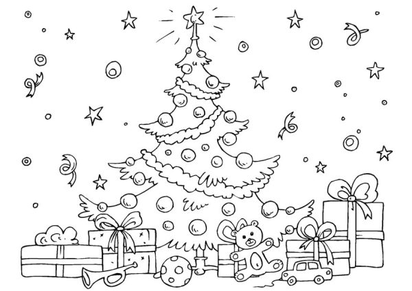 coloring christmas pages # 31