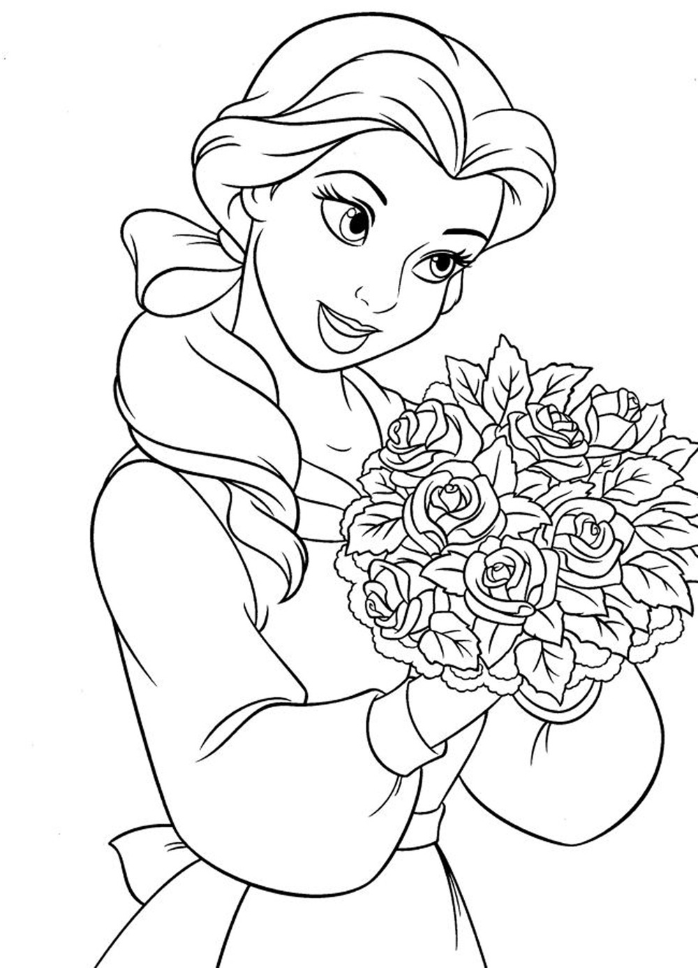 Disney Princess Tiana Coloring Page | Disney | Pinterest | free colouring pages disney princesses
